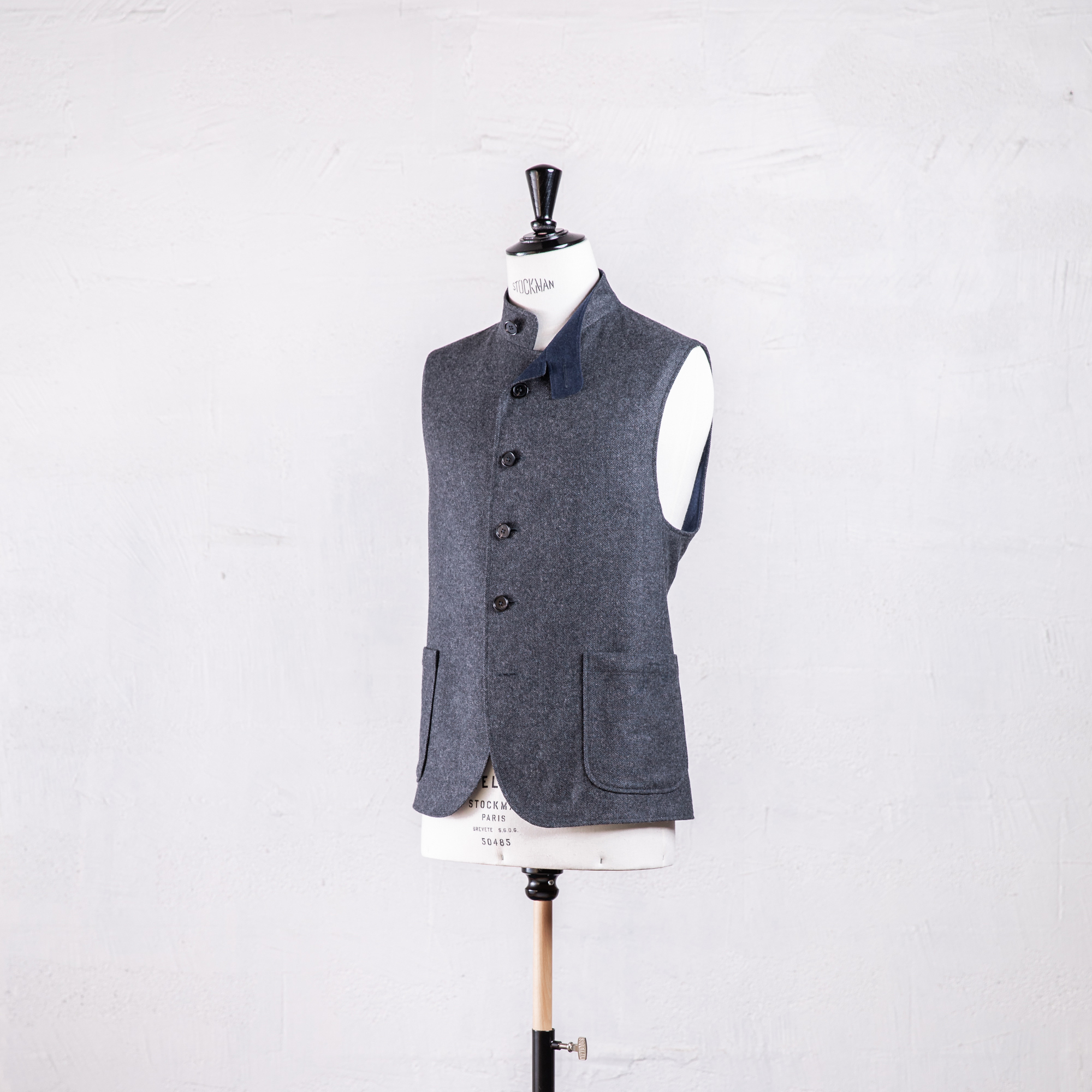 Gilet sans manches pour homme made in france Caminel