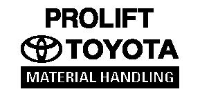 Prolift Toyota Material Handling Logo