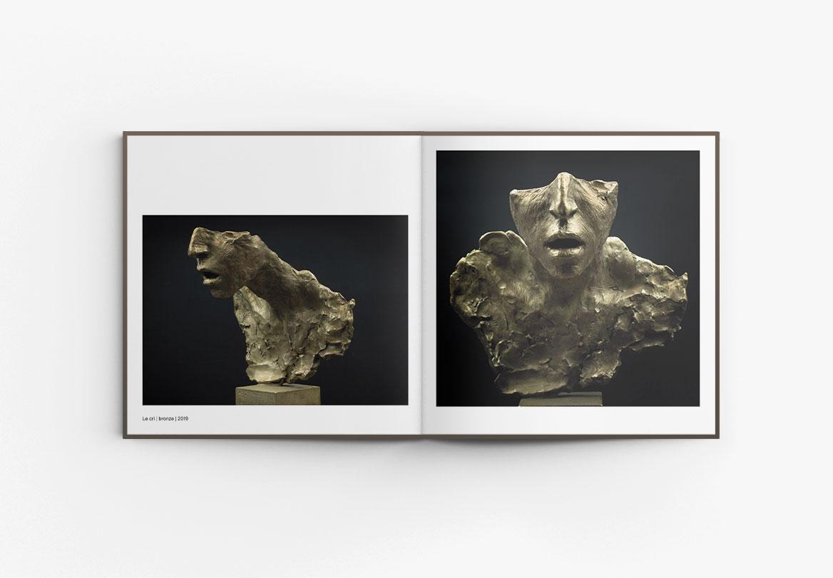 Réalisation catalogue d'exposition Irina Shark