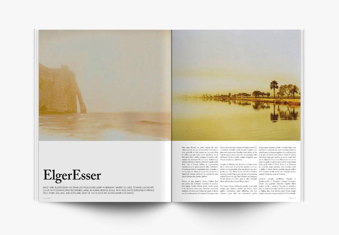 Conception et réalisation de revue photographique d'art