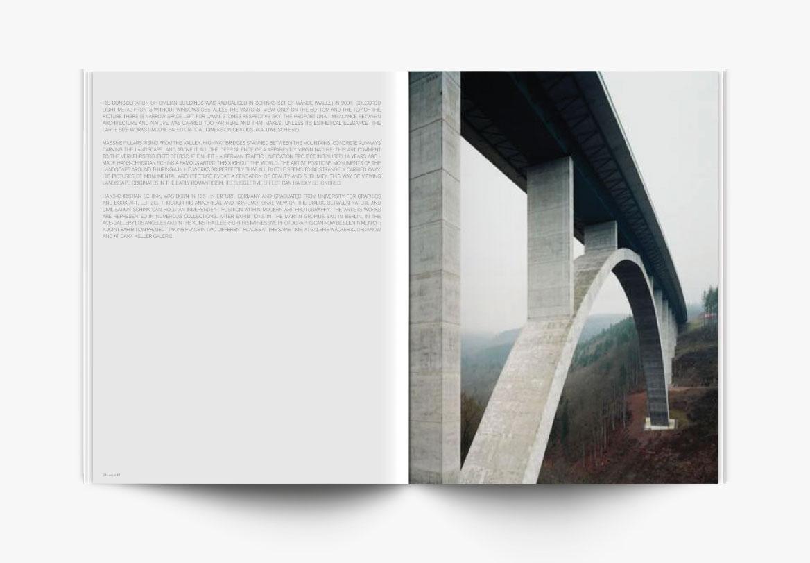 Conception et création de revue photographique d'art