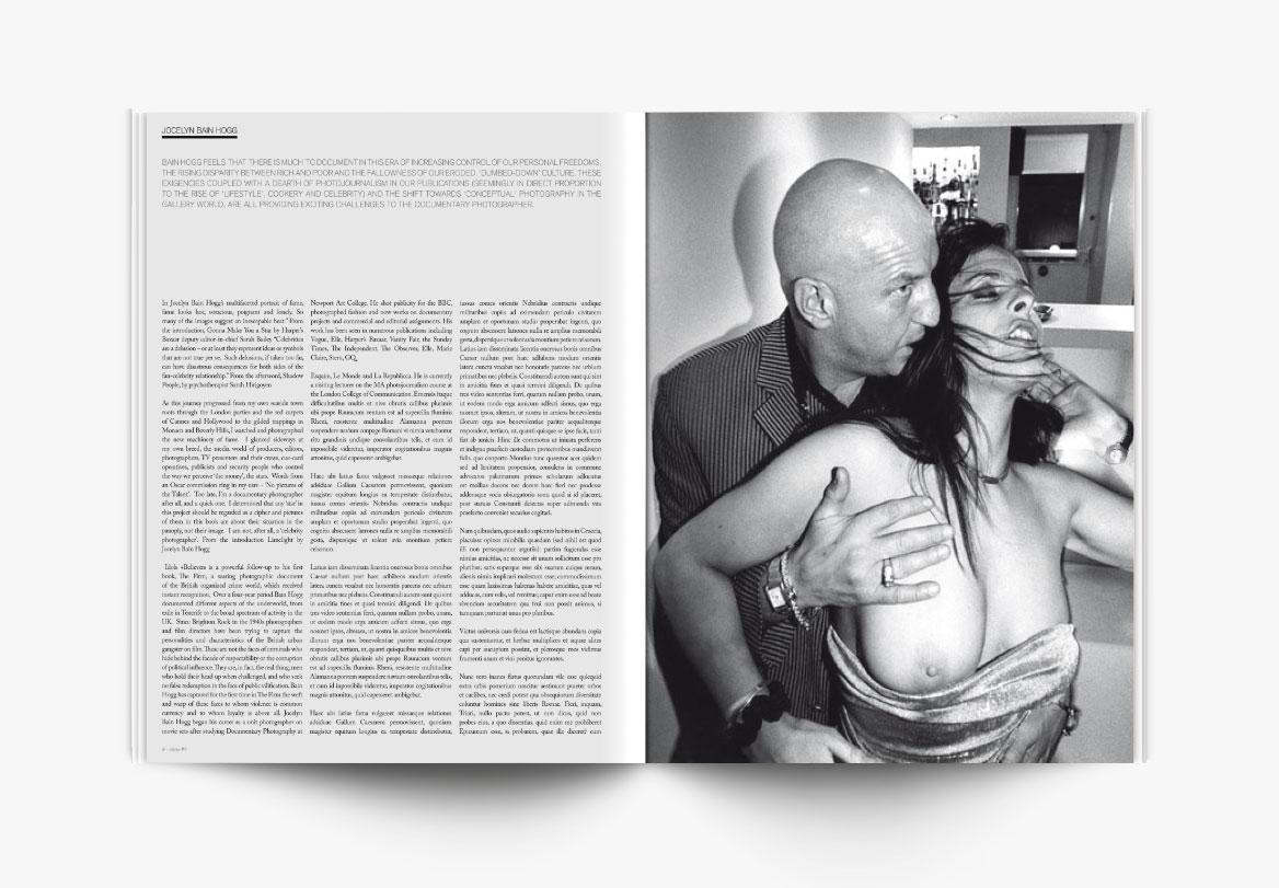 Identité visuelle de magazine photographique d'art