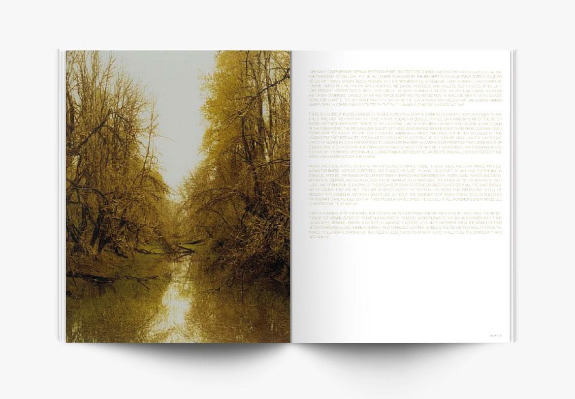 Conception et réalisation de magazine photographique d'art