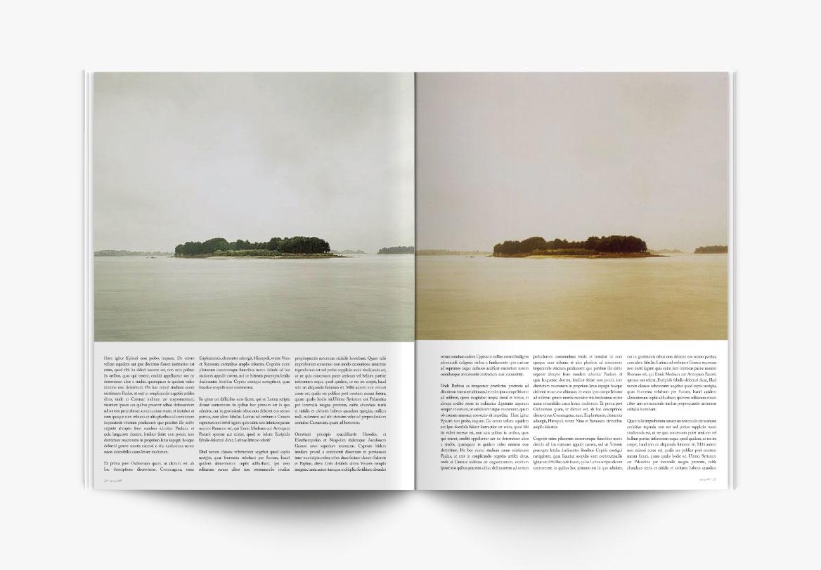 Conception et création de magazine photographique d'art
