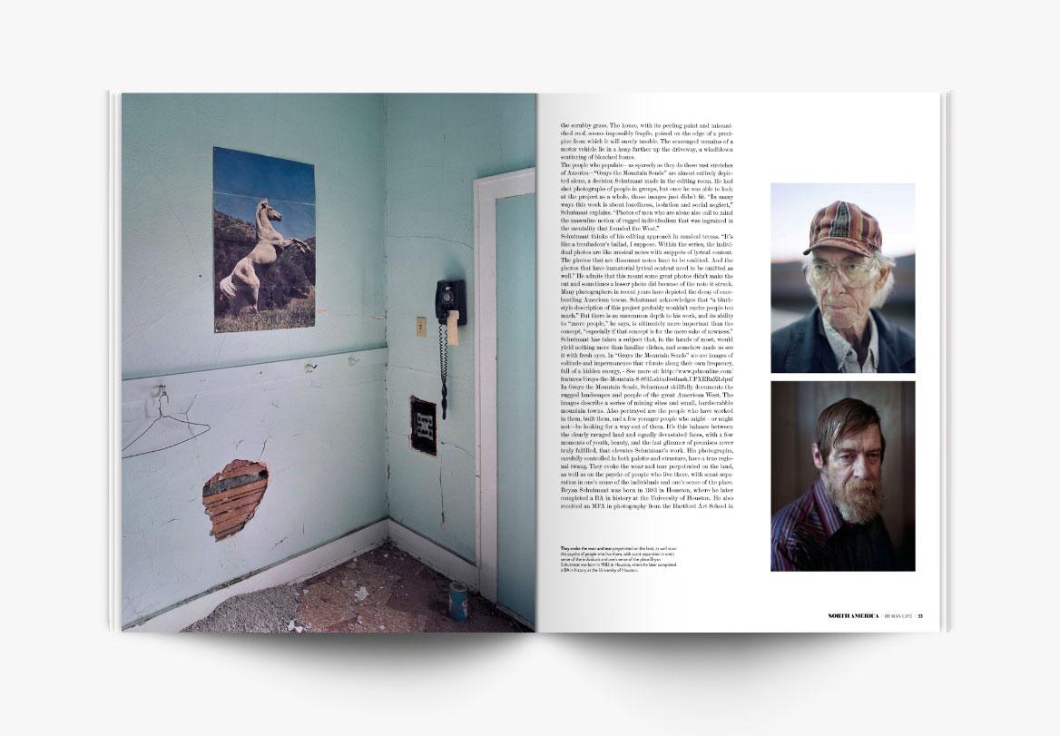 Création de revue de photographe