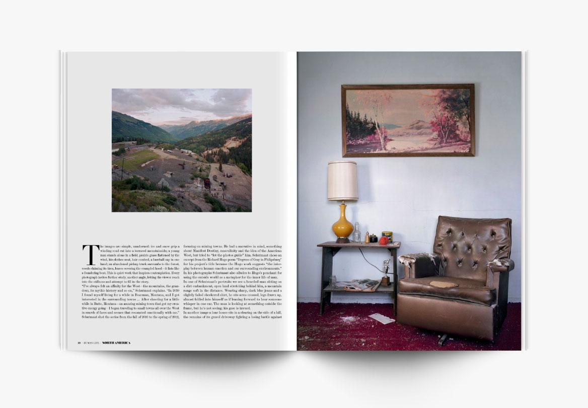 Création de revue photographique