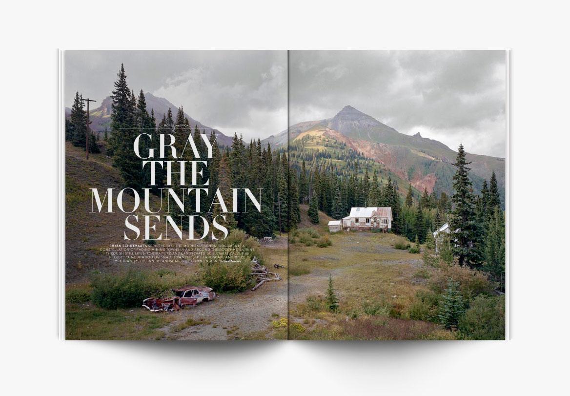 Création de magazine de photographe
