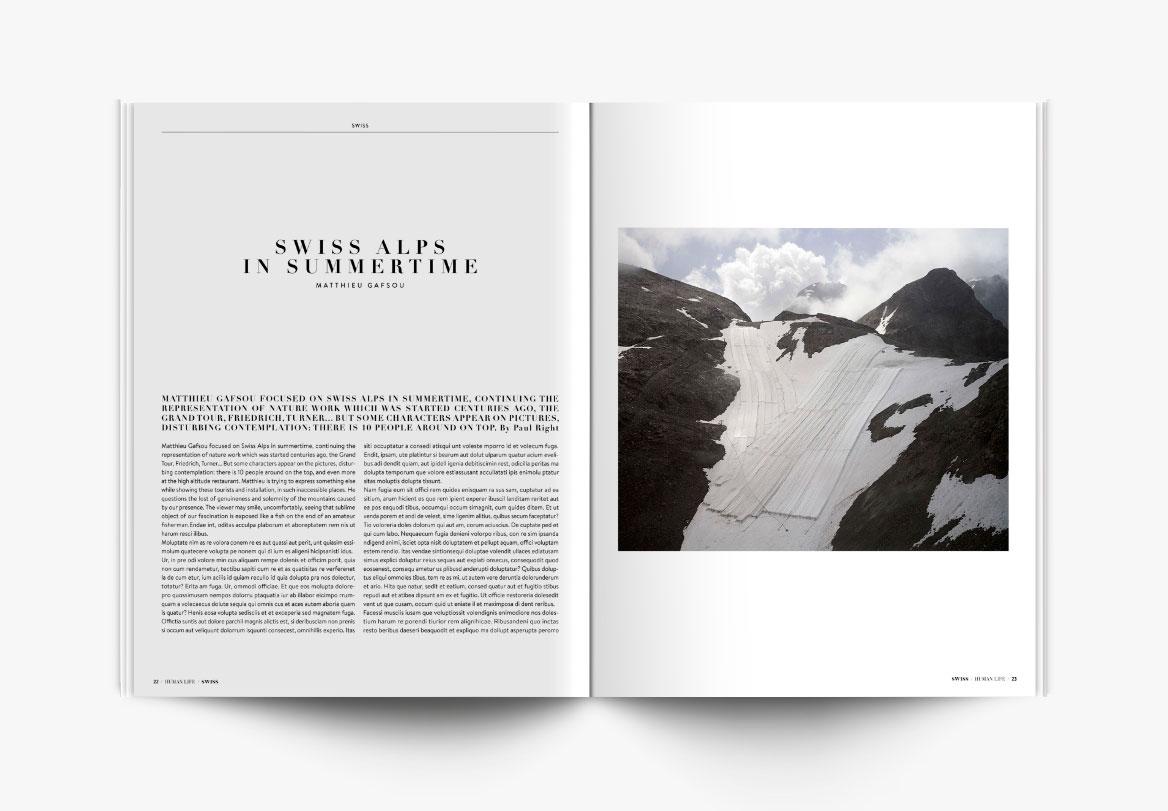Création de magazine spécialisé photographie