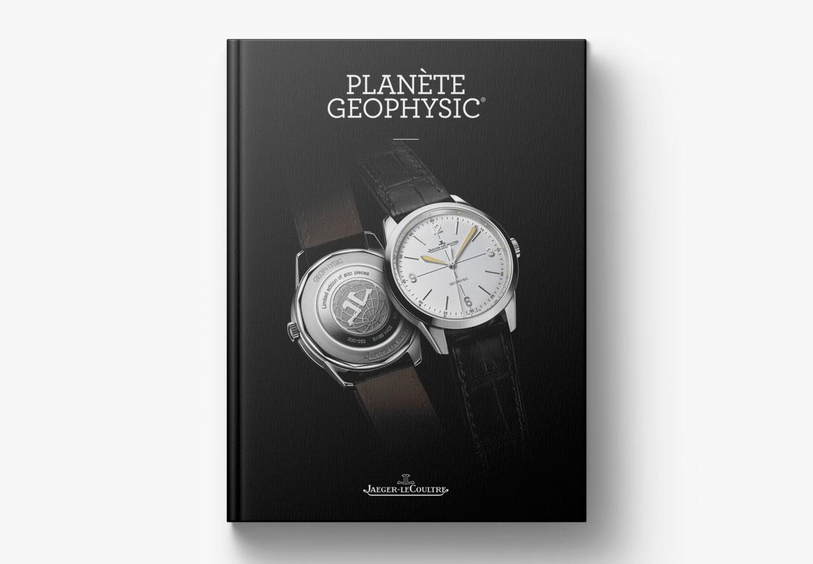 Création de livre haute horlogerie Jaeger-LeCoultre