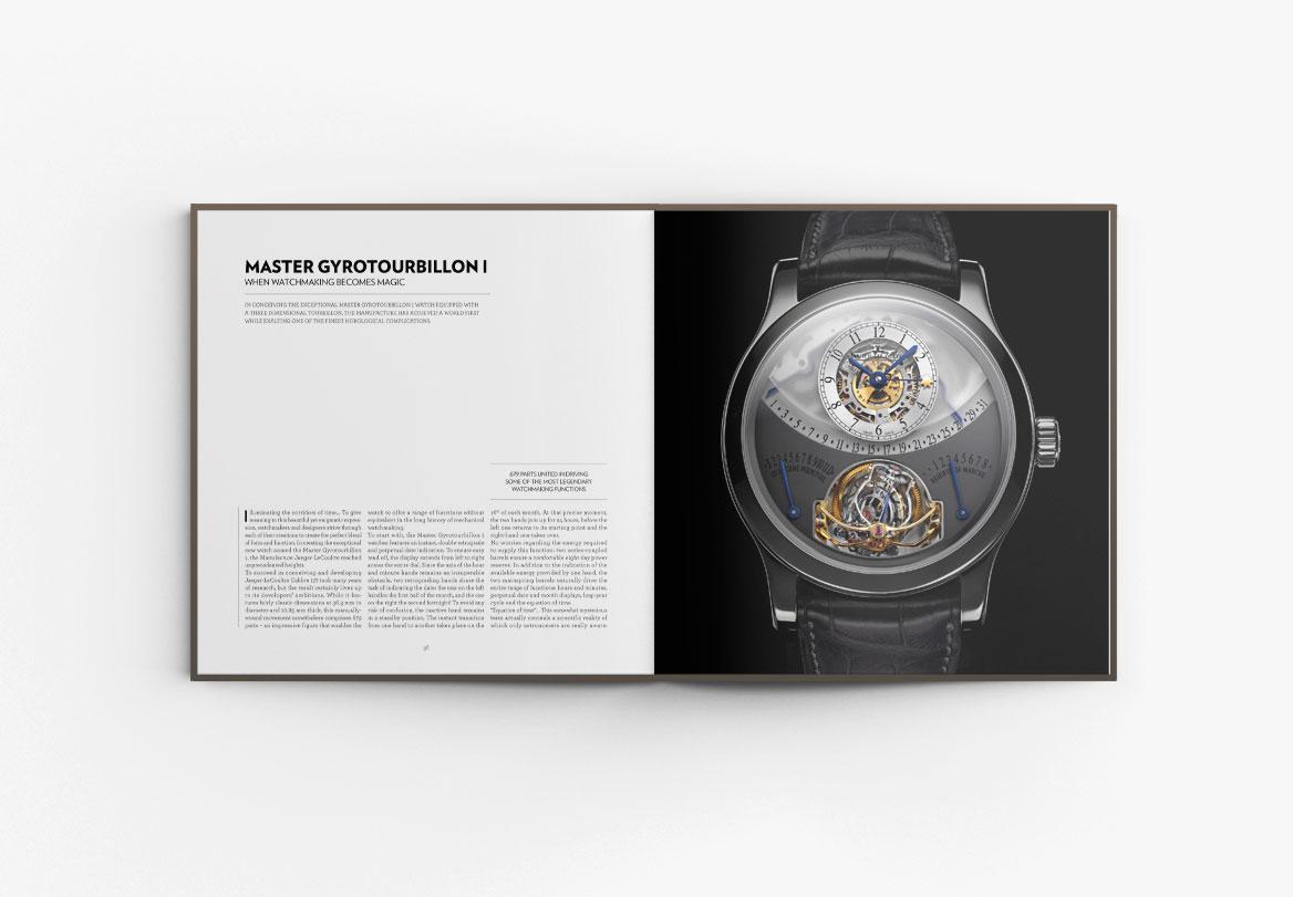 Création de beau livre horlogerie Hybris Mechanica Jaeger-LeCoultre