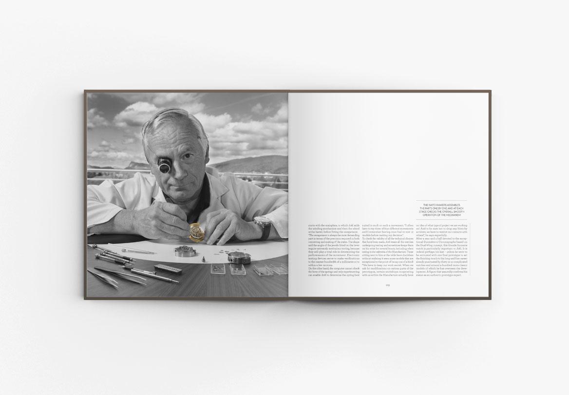 Création de livre haute joaillerie Hybris Mechanica Jaeger-LeCoultre