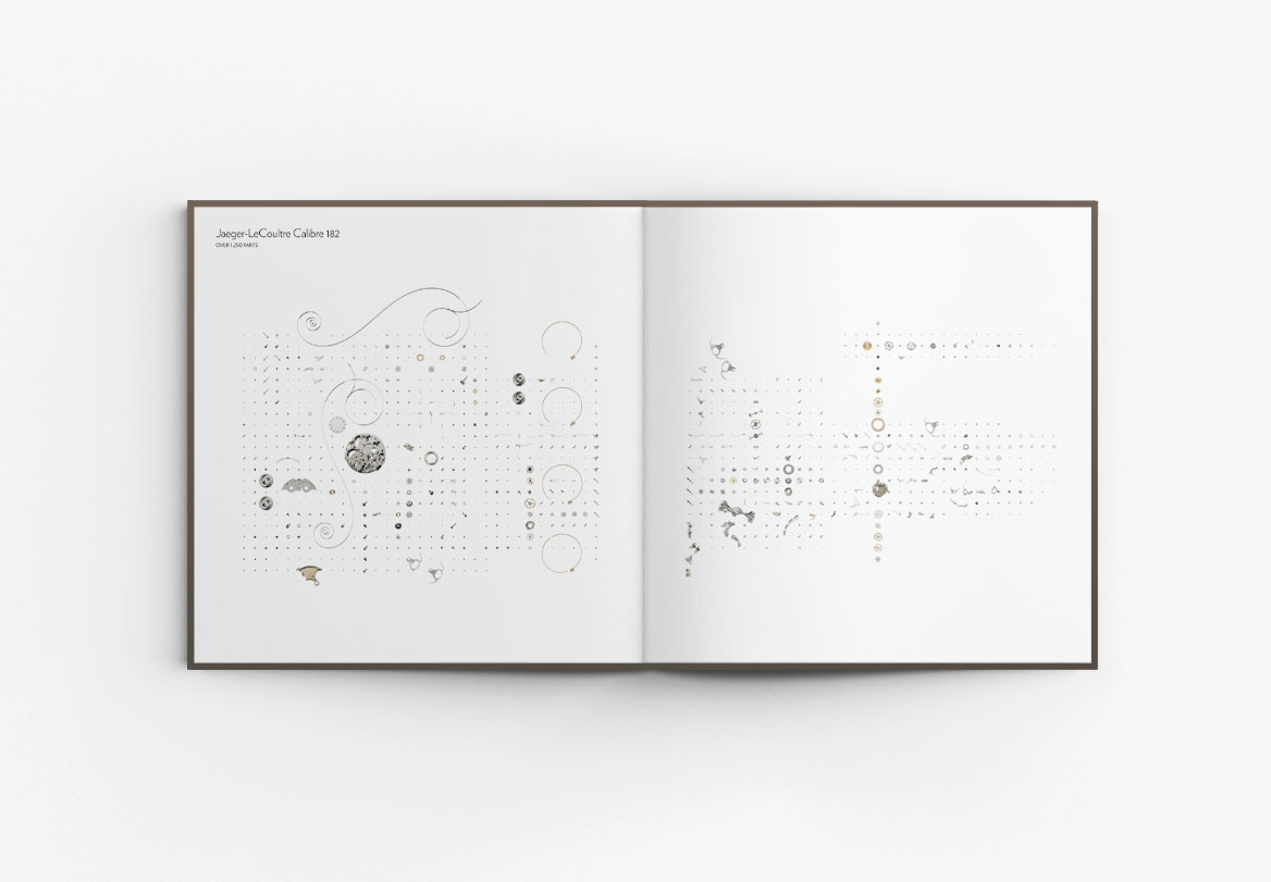 Création de livre horloger Jaeger-LeCoultre