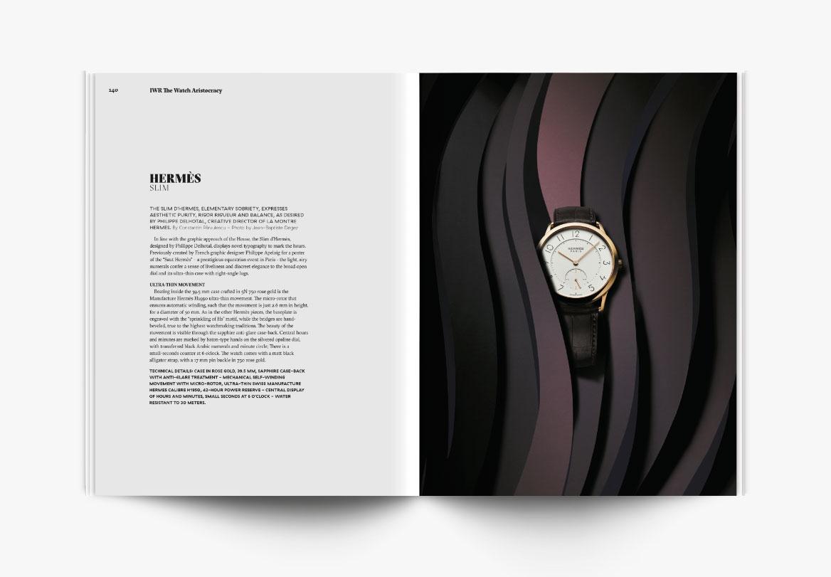 Création de magazine de haute horlogerie