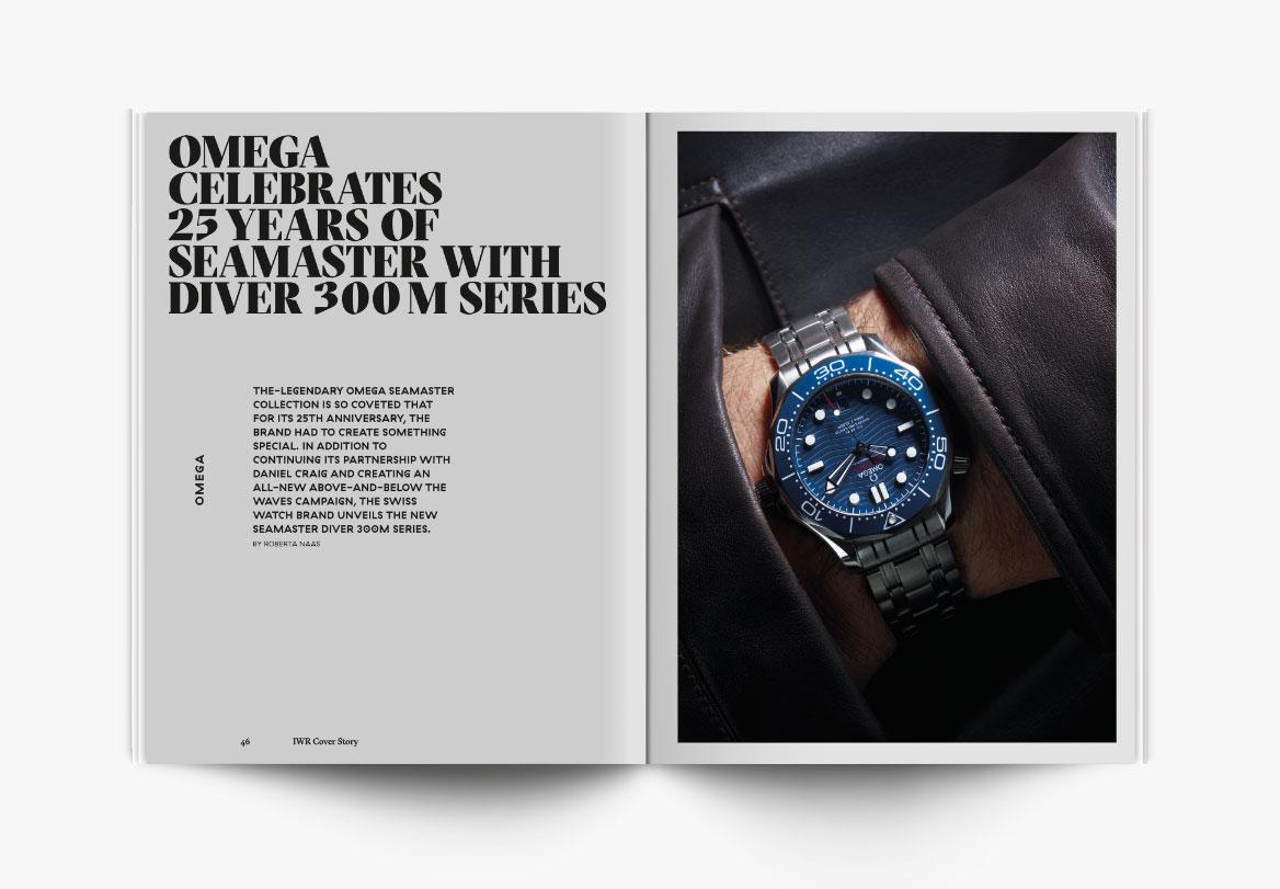 Création de magazine de montres