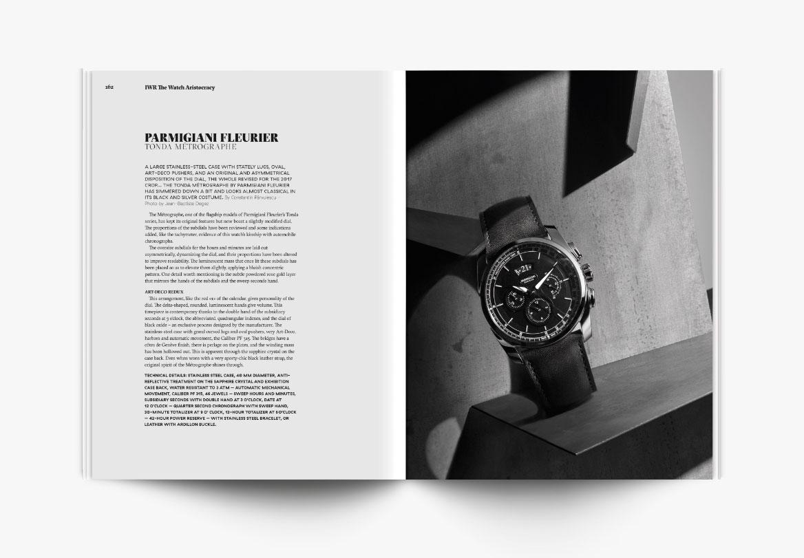 Création de magazine de luxe