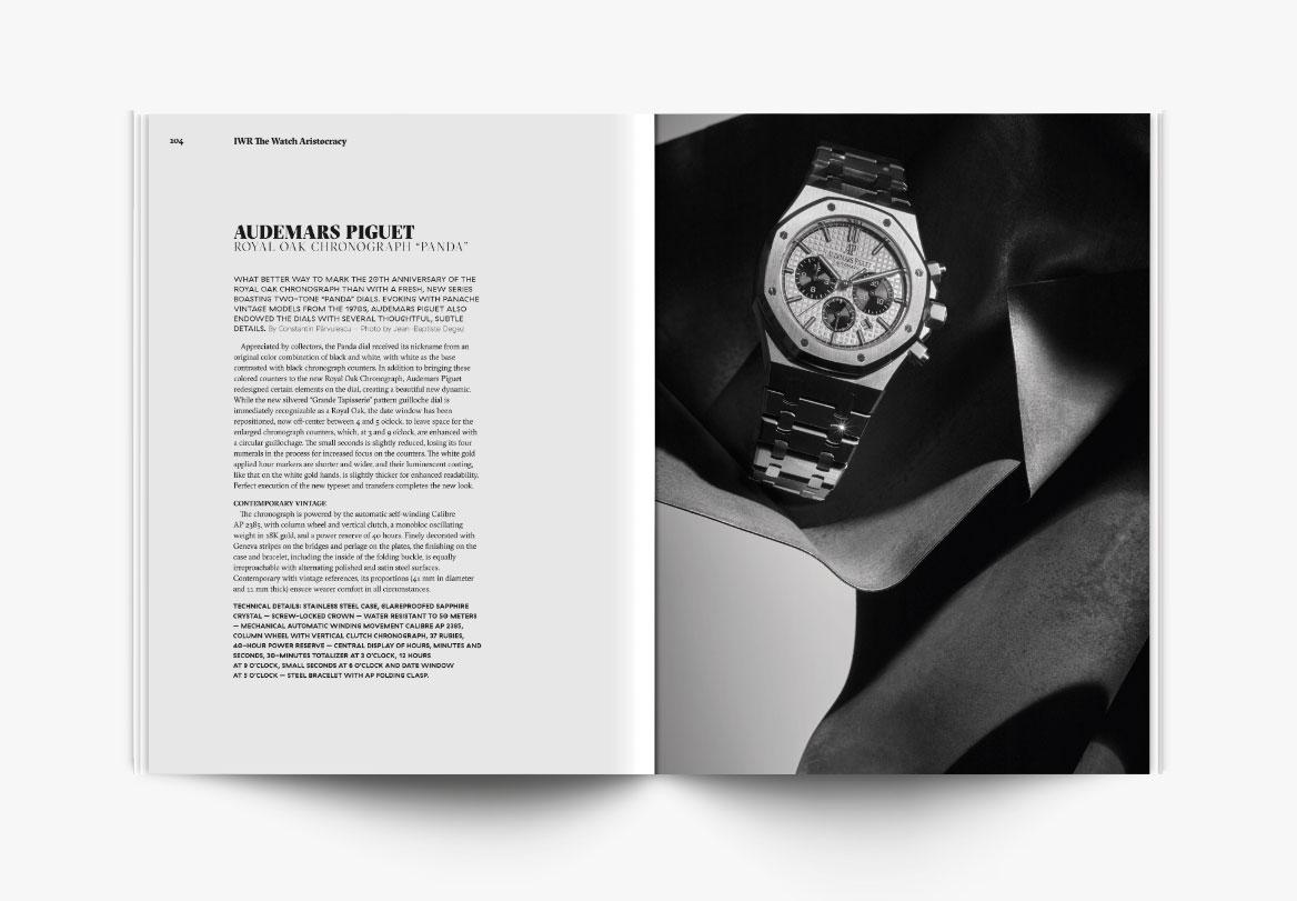 Création de magazine horlogerie
