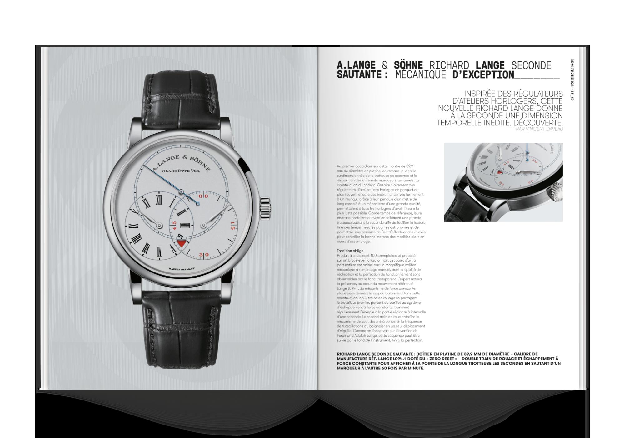 magazine français de haute horlogerie