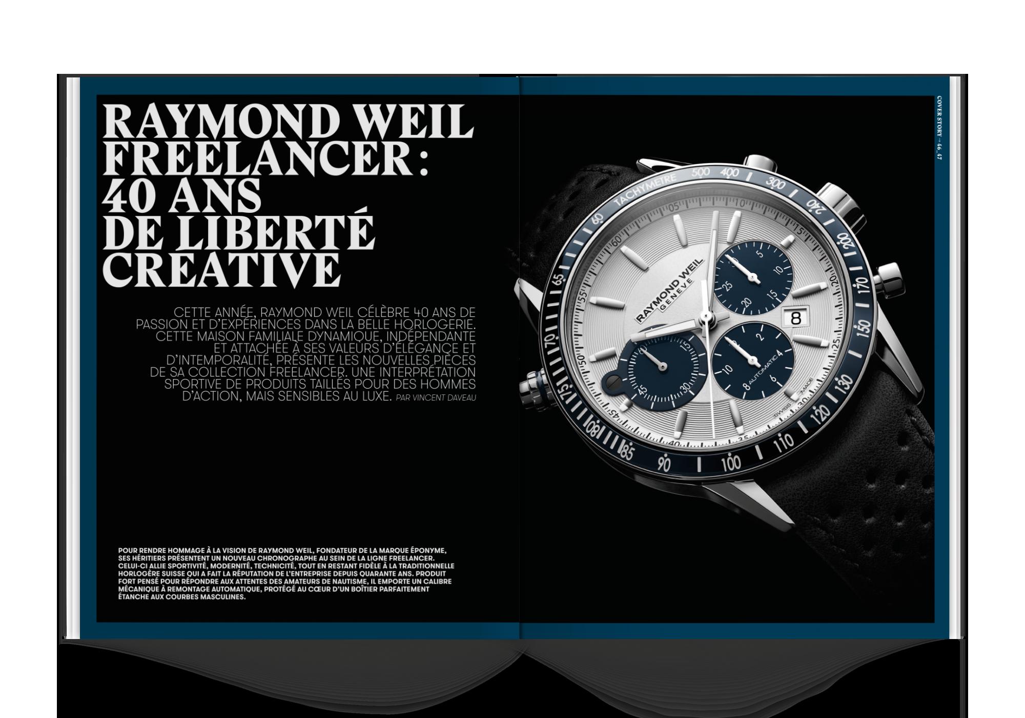 magazine haute joaillerie montres de luxe