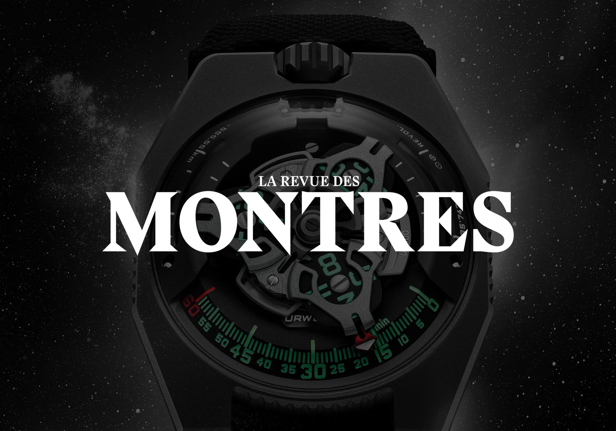 magazine français de montres de luxe
