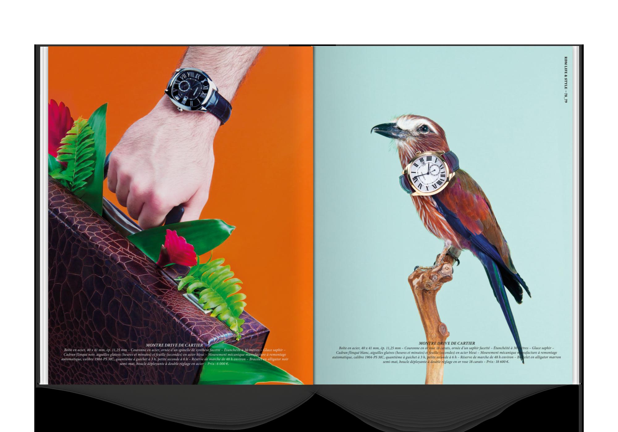 graphiste freelance luxe haute horlogerie