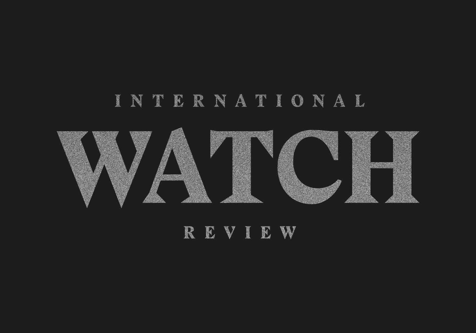 création logo de l'international watch review