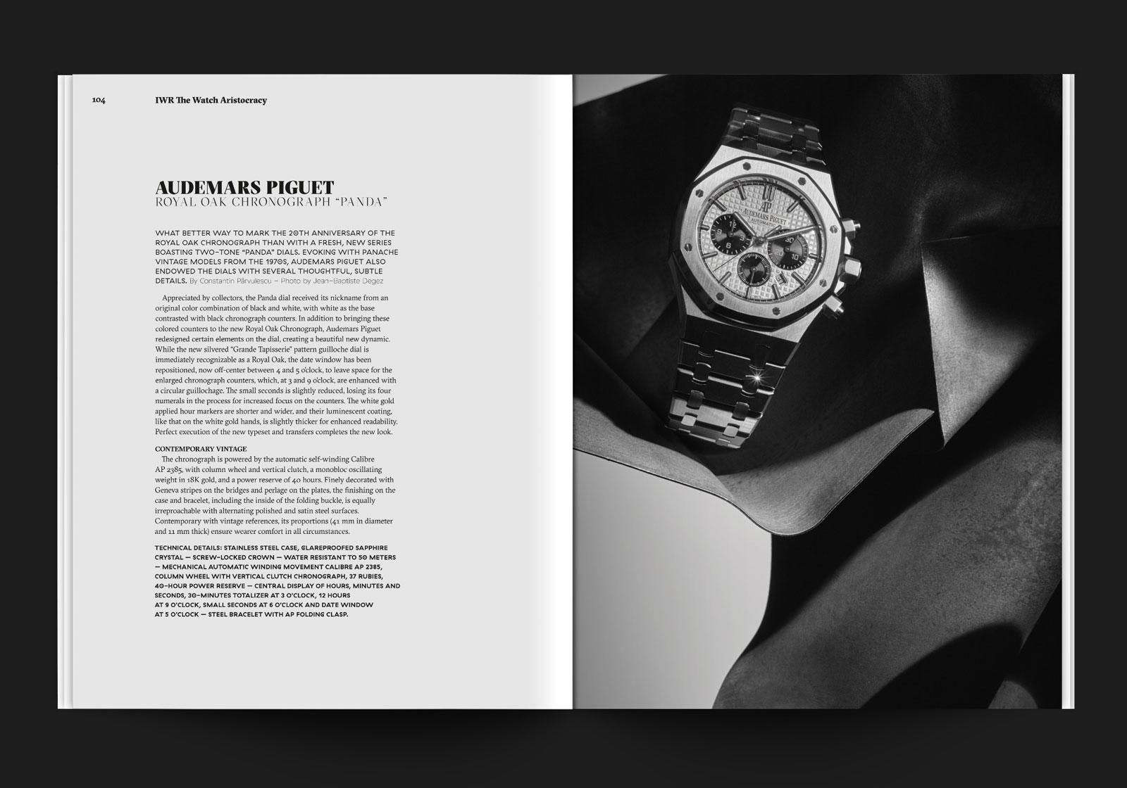 création identité visuelle magazine