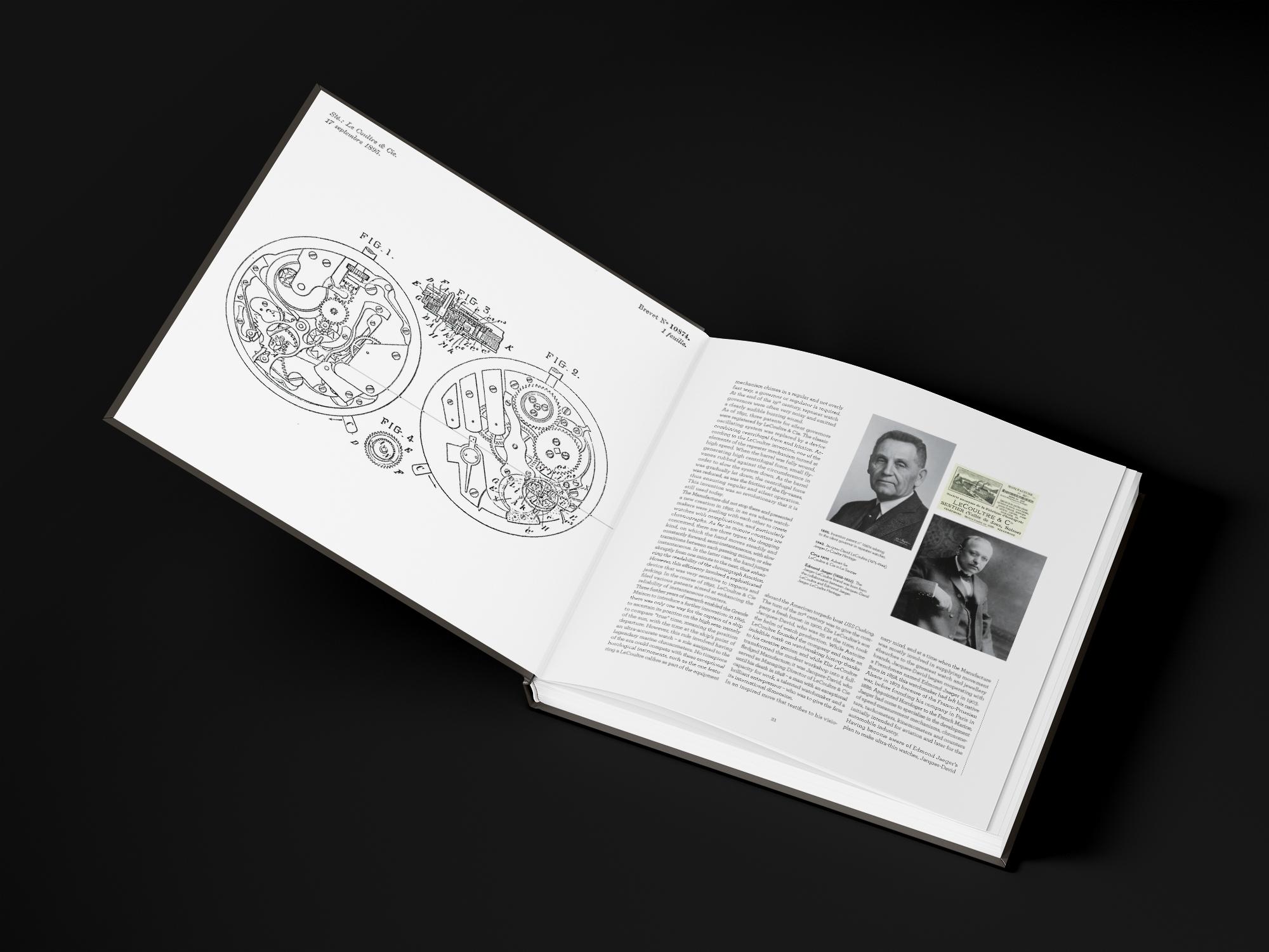 Création de livre horlogerie graphiste freelance