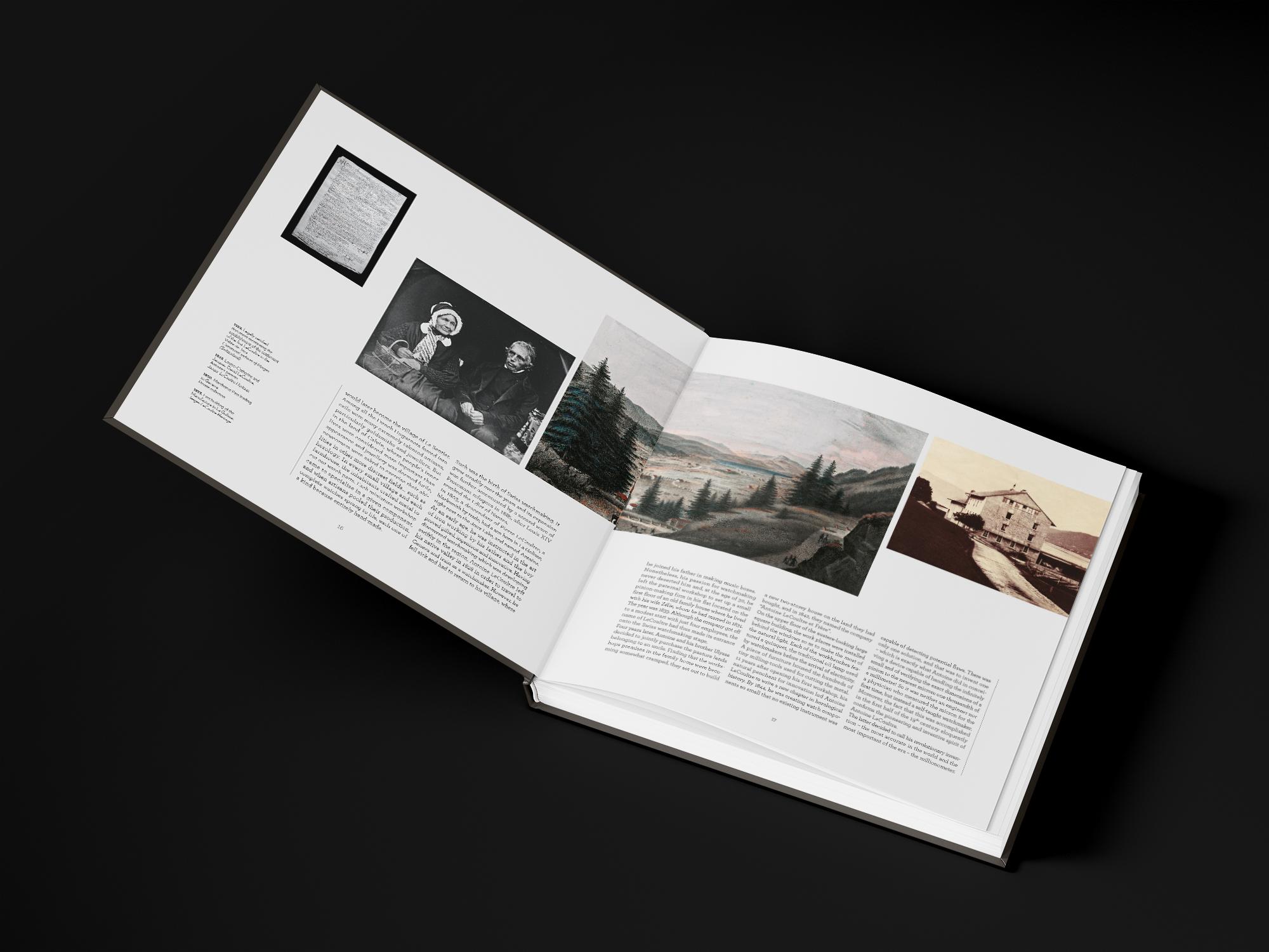 Création de livre de montre Jaeger-LeCoultre