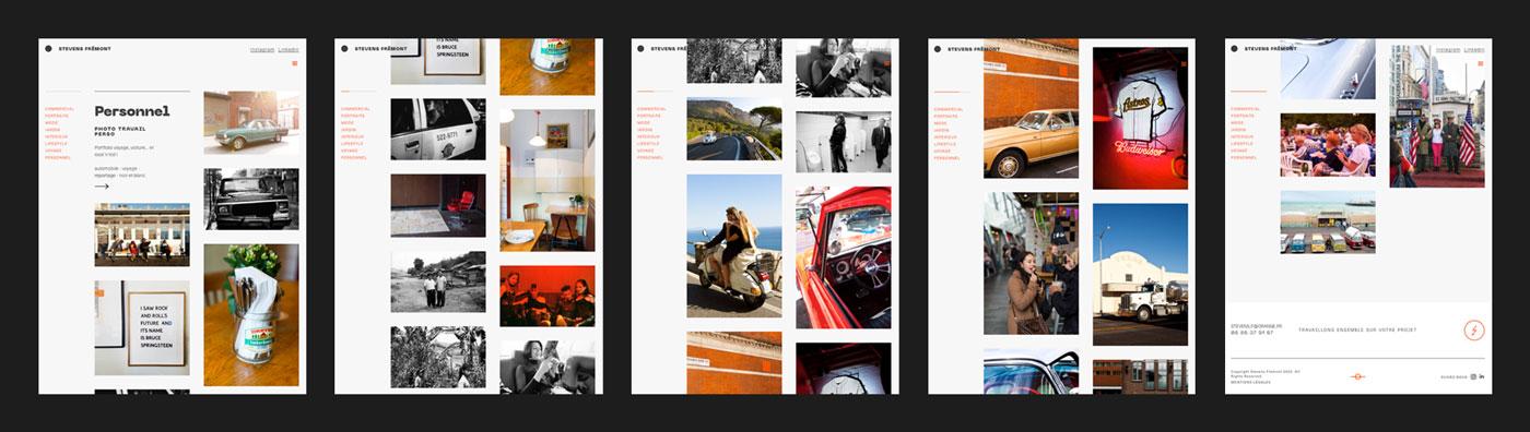 webdesigner webflow site internet photographe