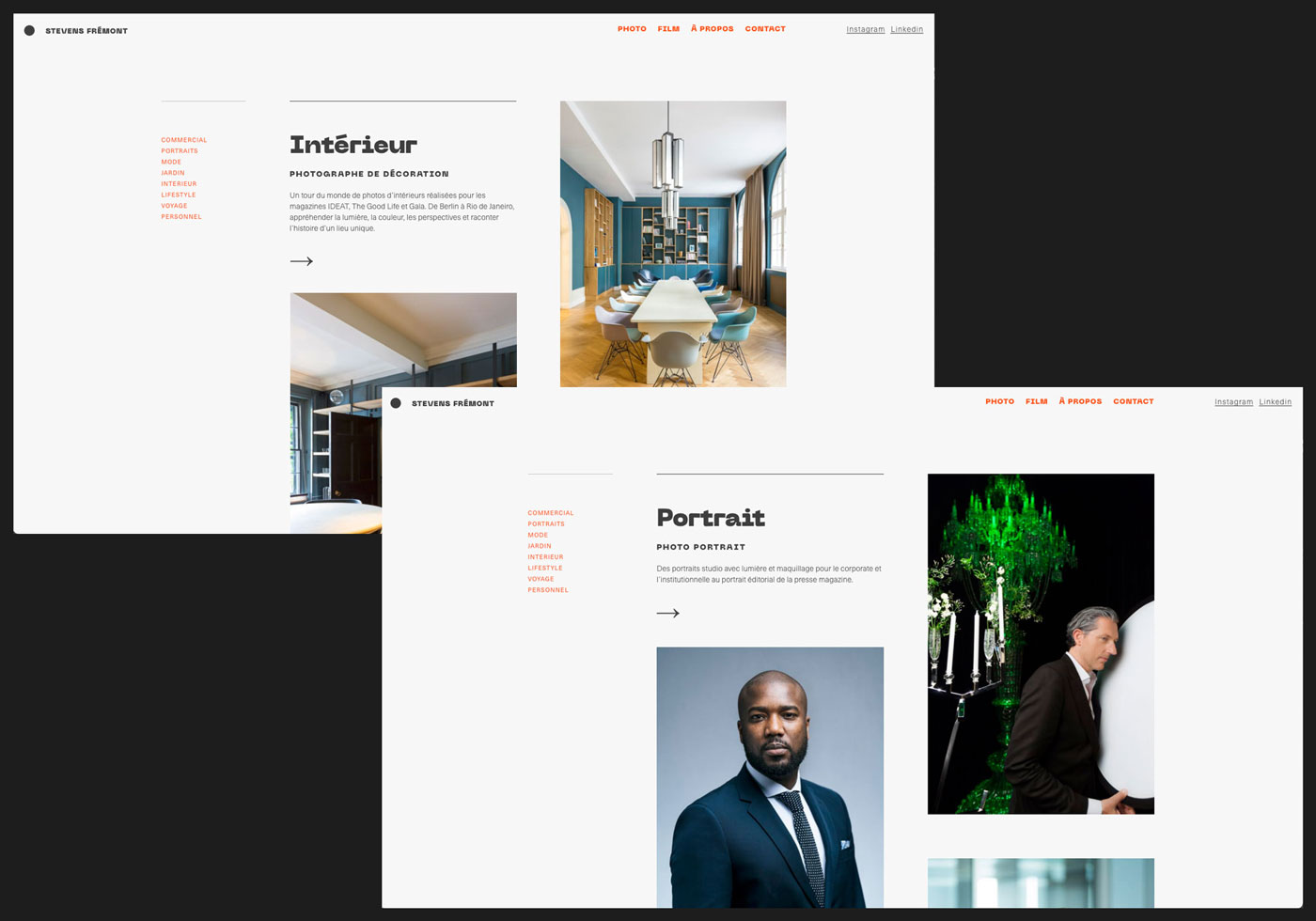webdesigner freelance webflow site internet