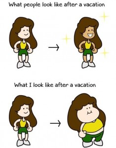 Vacation weight gain: How to avoid it