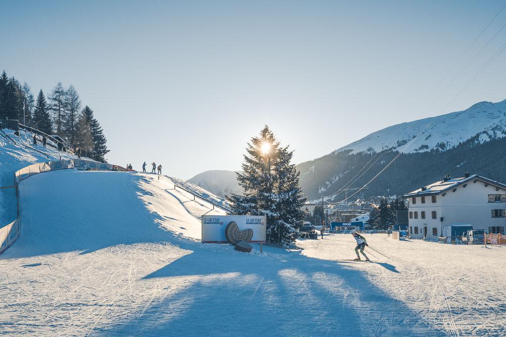 Weltcup-Strecke Davos Nordic