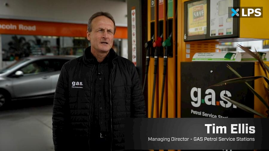 GAS Managing Director Tim Ellis