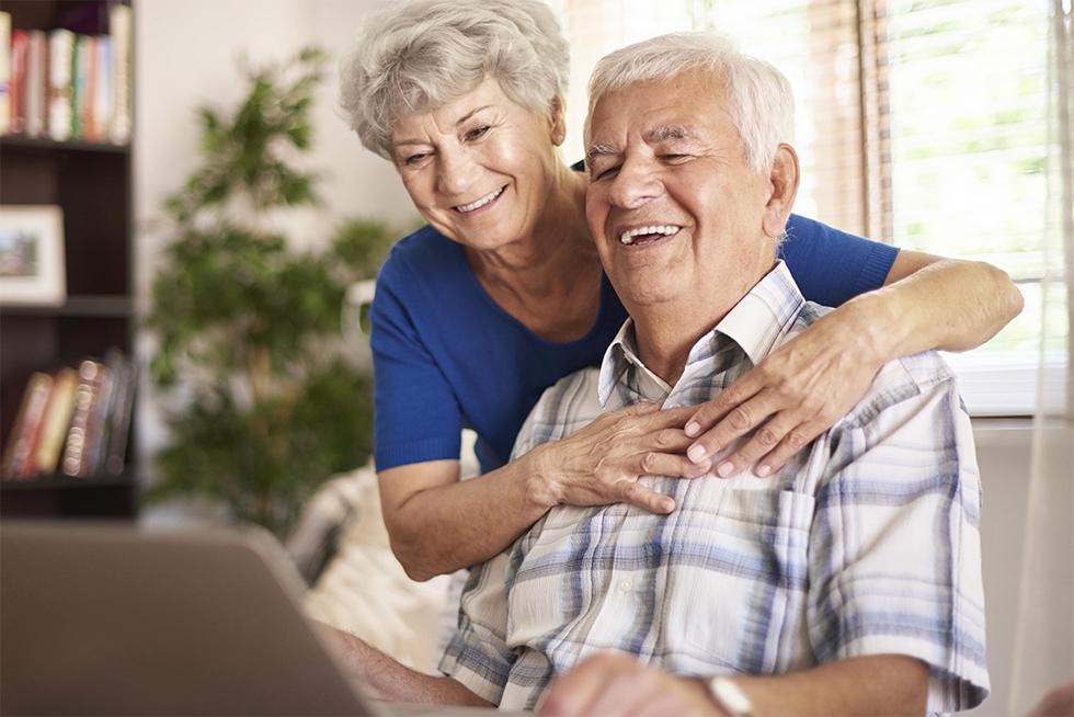Happy Grandparents using LifeReady