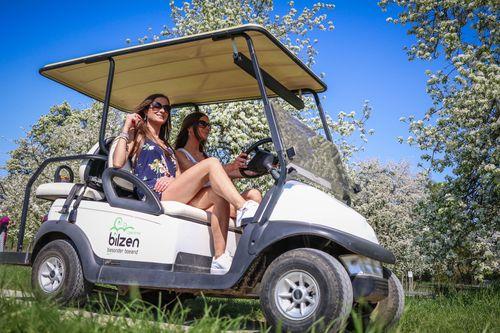 Electric Golf Carts Tour