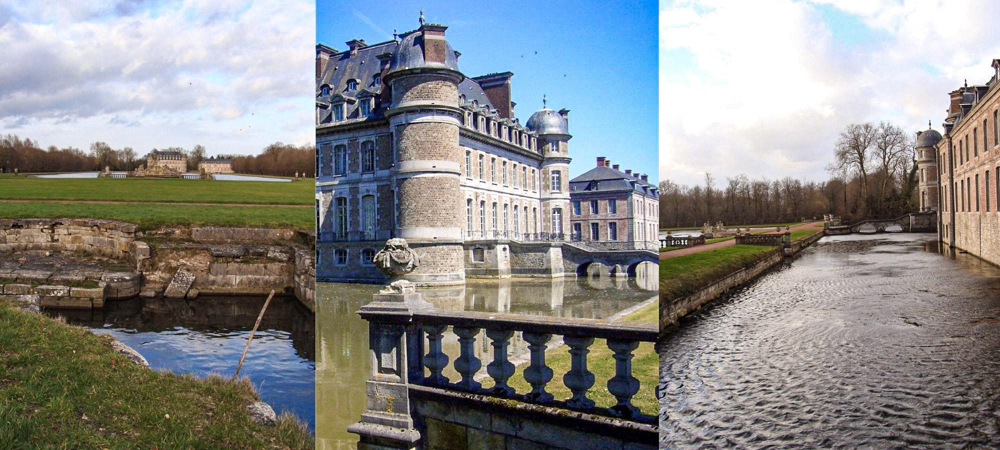 Moated castle, Beloeil Castle, Belgium
