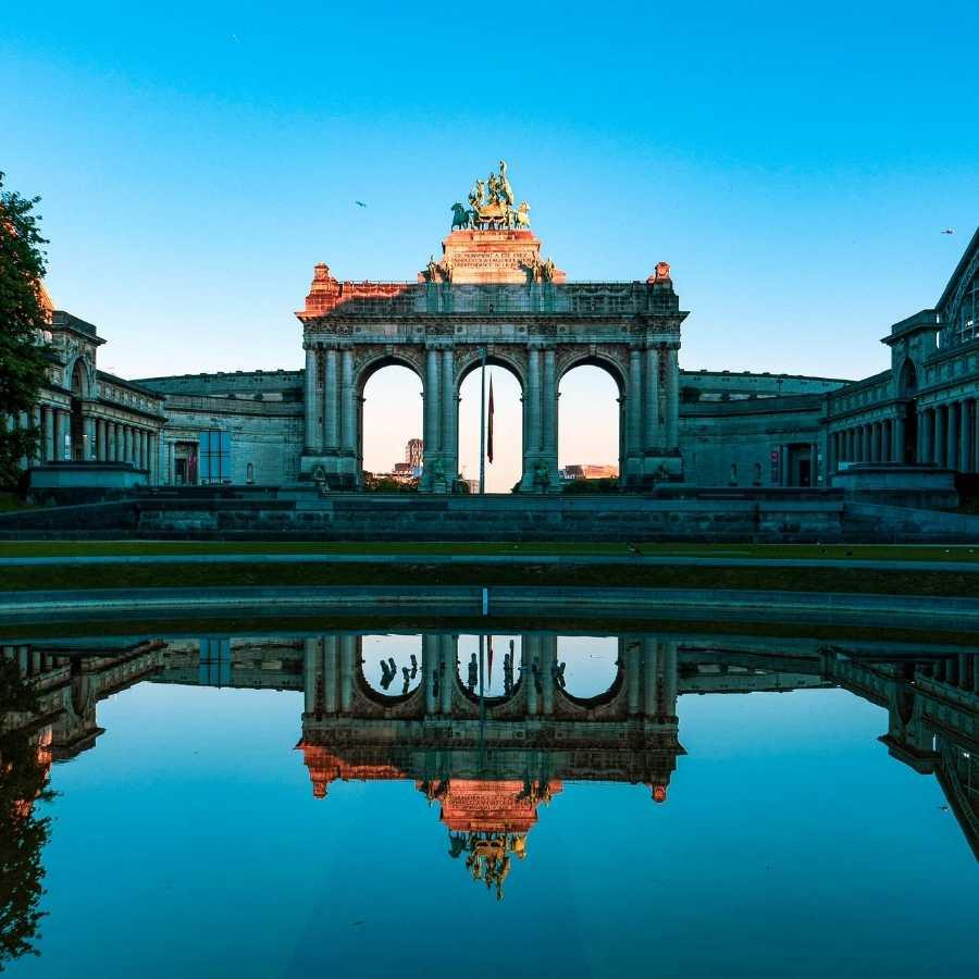Park Cinquantenaire, Brussels, Belgium