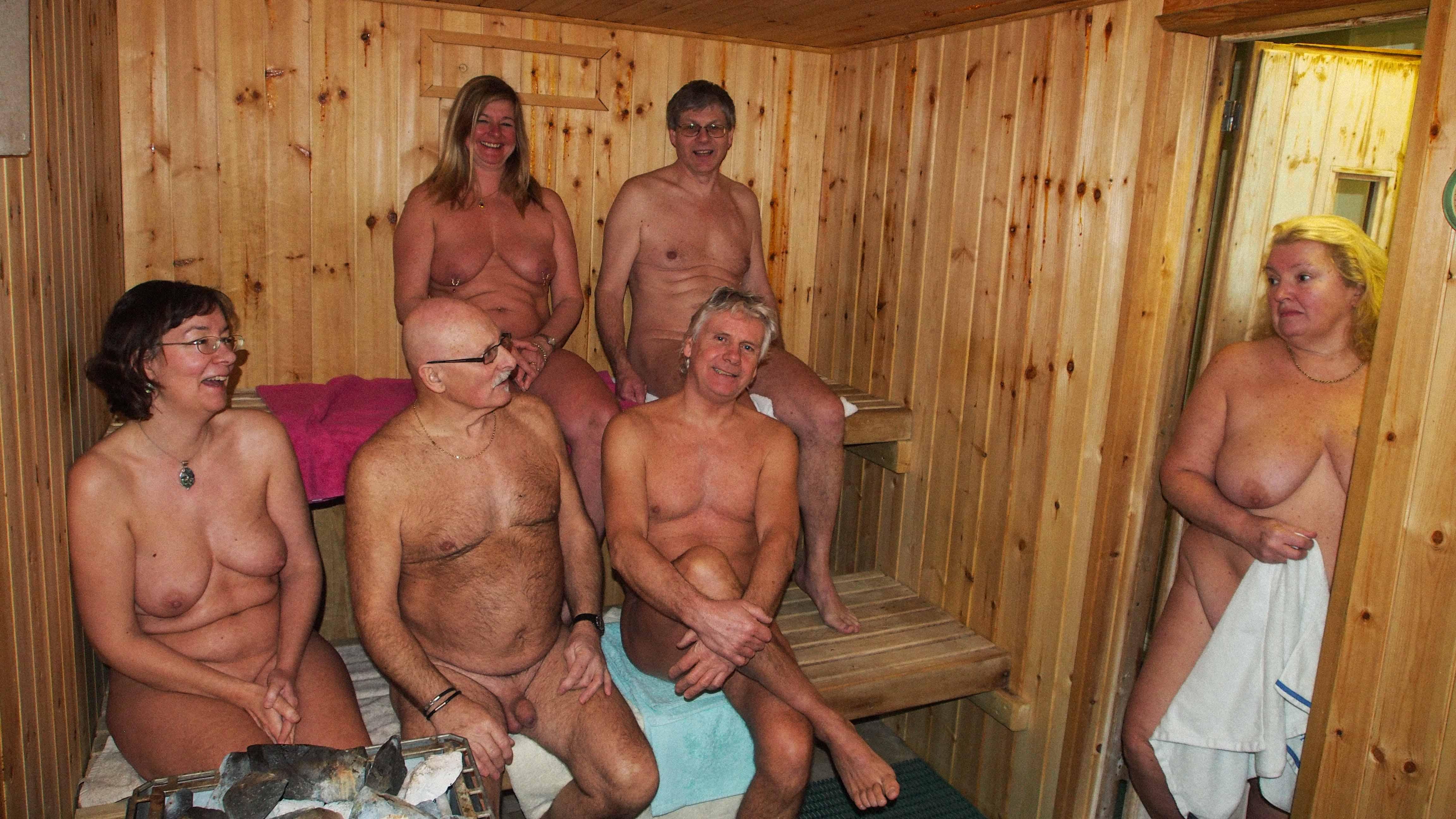 Naturist sauna