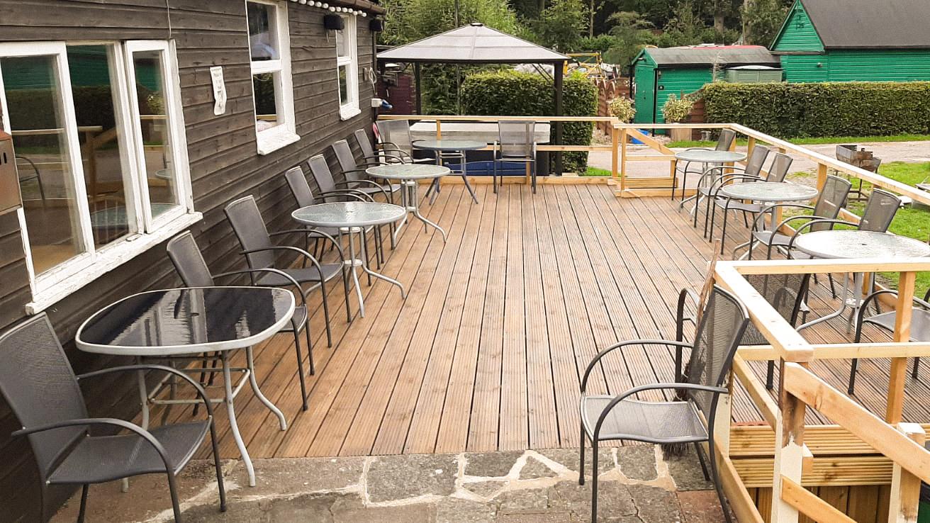 Fully refurbished veranda