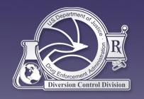 Diversion Control Division logo