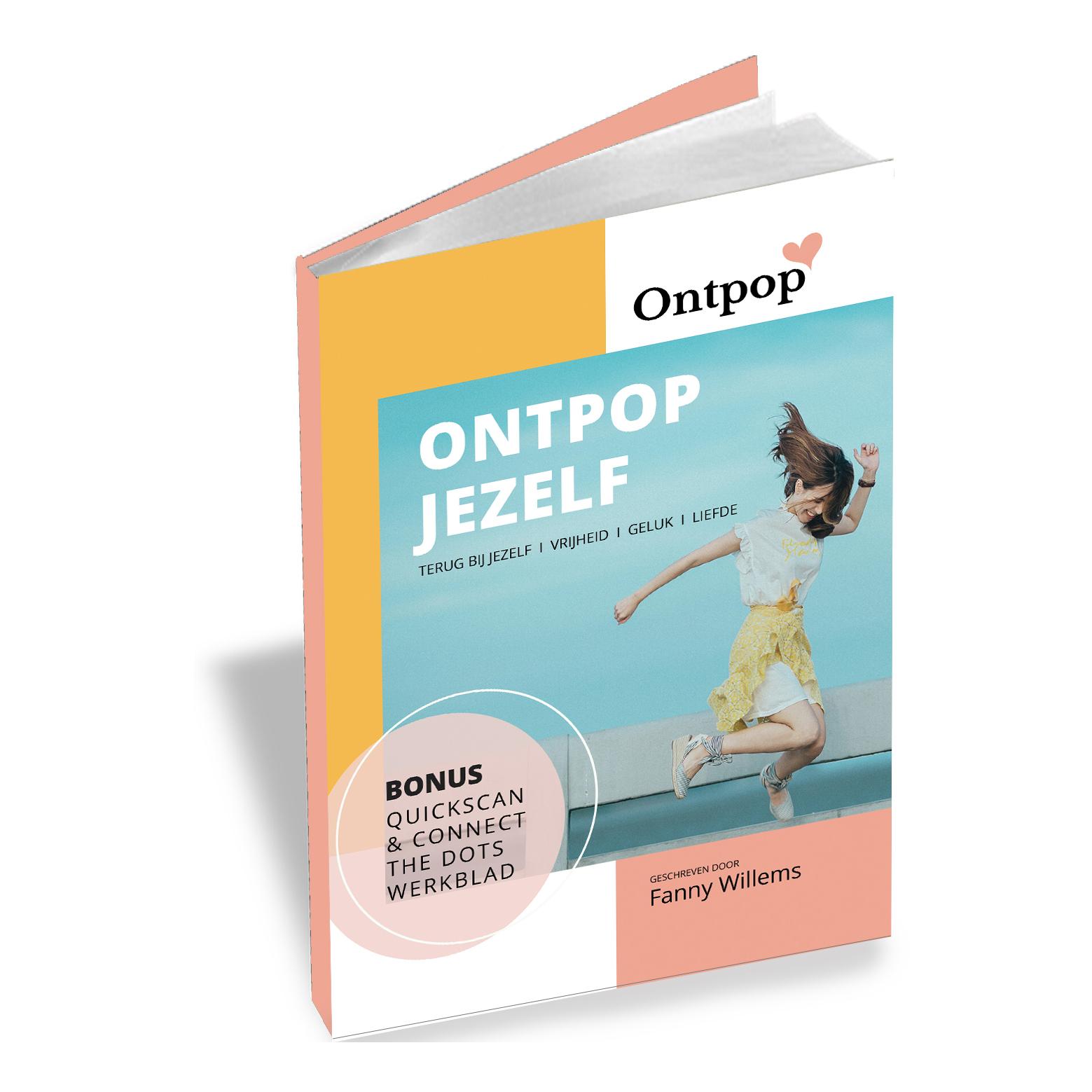 Ontpop e-book: lees mijn verhaal hoe ik mezelf bevrijdde