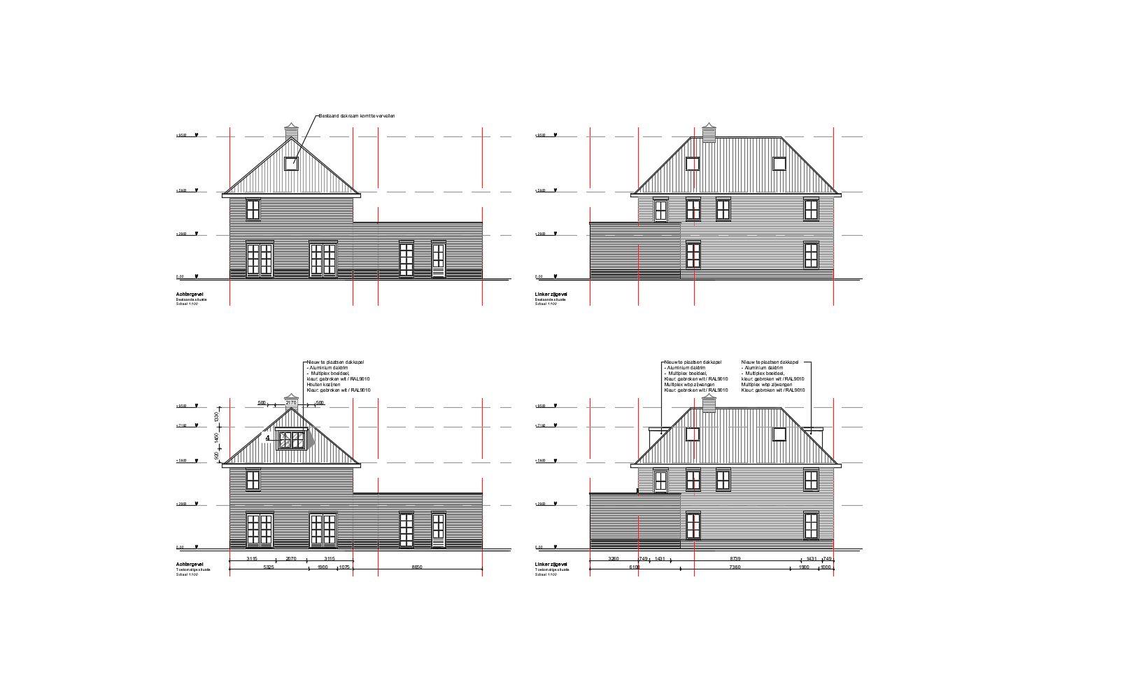 Omgevingsvergunning van een woonhuis in gemeente Dinteloord