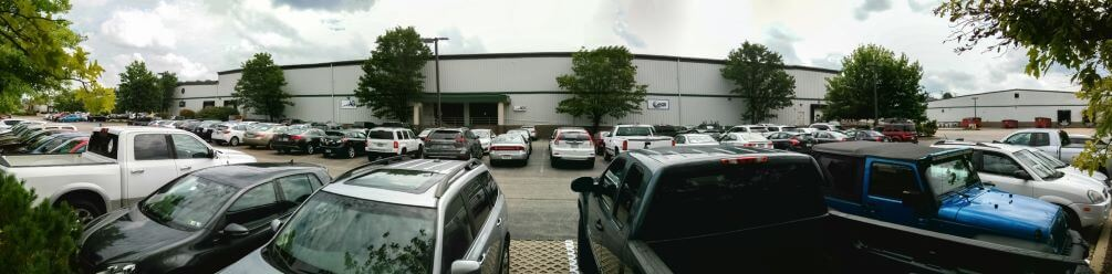 outside of agdisplays facility, greensburg pa