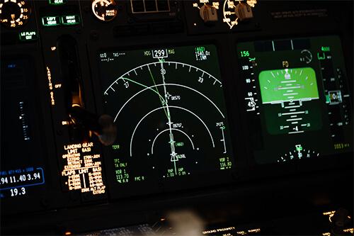 night vision military control board