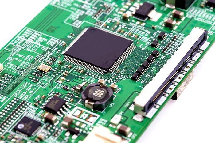 lcd controller board circuit, green