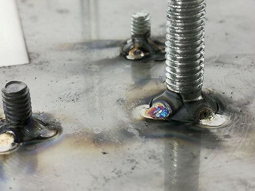 soldered screws