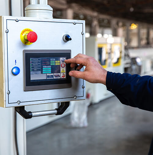 hand operating industrial lcd hmi