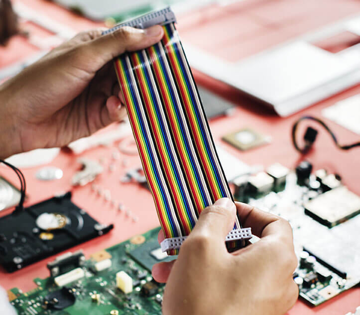 rainbow cable ribbon