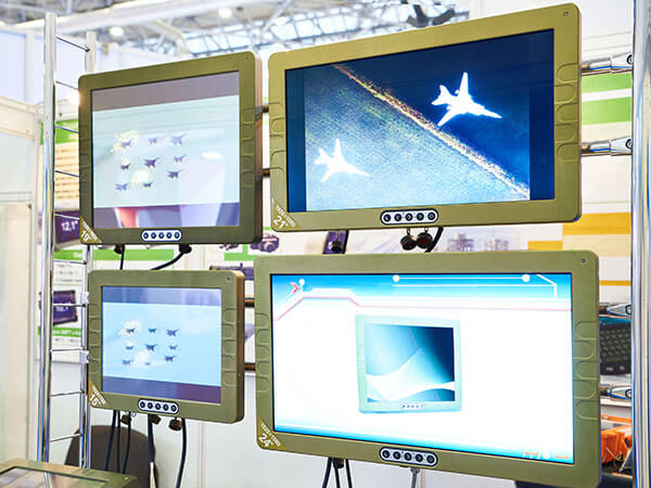 military lcds