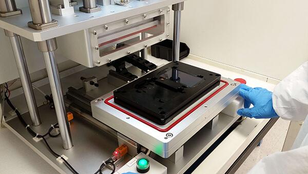 oca bonding machine pressing lcd